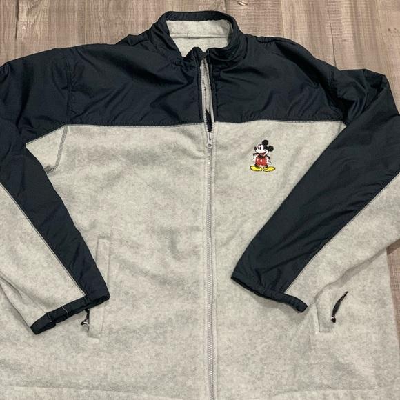 Disney Other - Disney Store Mickey Mouse Full Zip Front Fleece